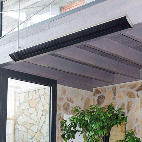 infrarotheizstrahler terrasse wintergarten gastronomie. Black Bedroom Furniture Sets. Home Design Ideas